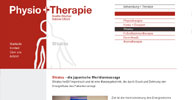 Webdesign: Physioplustherapie